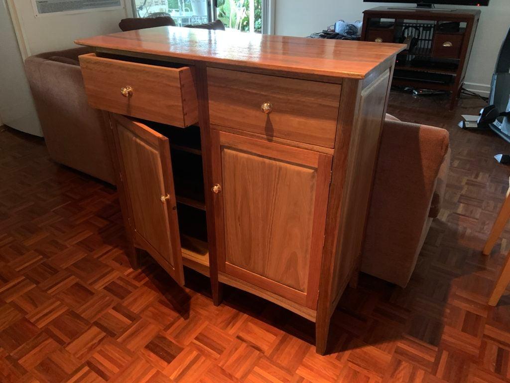 Freestanding Kitchen Cabinet by Simon Pincus