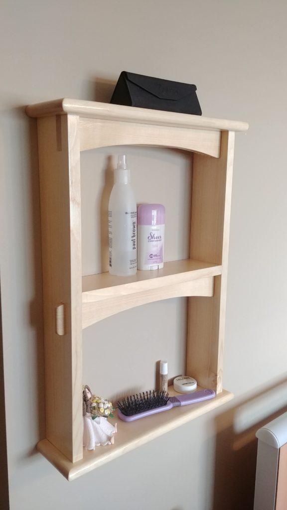Hanging Wall Shelf by Ed Baedke