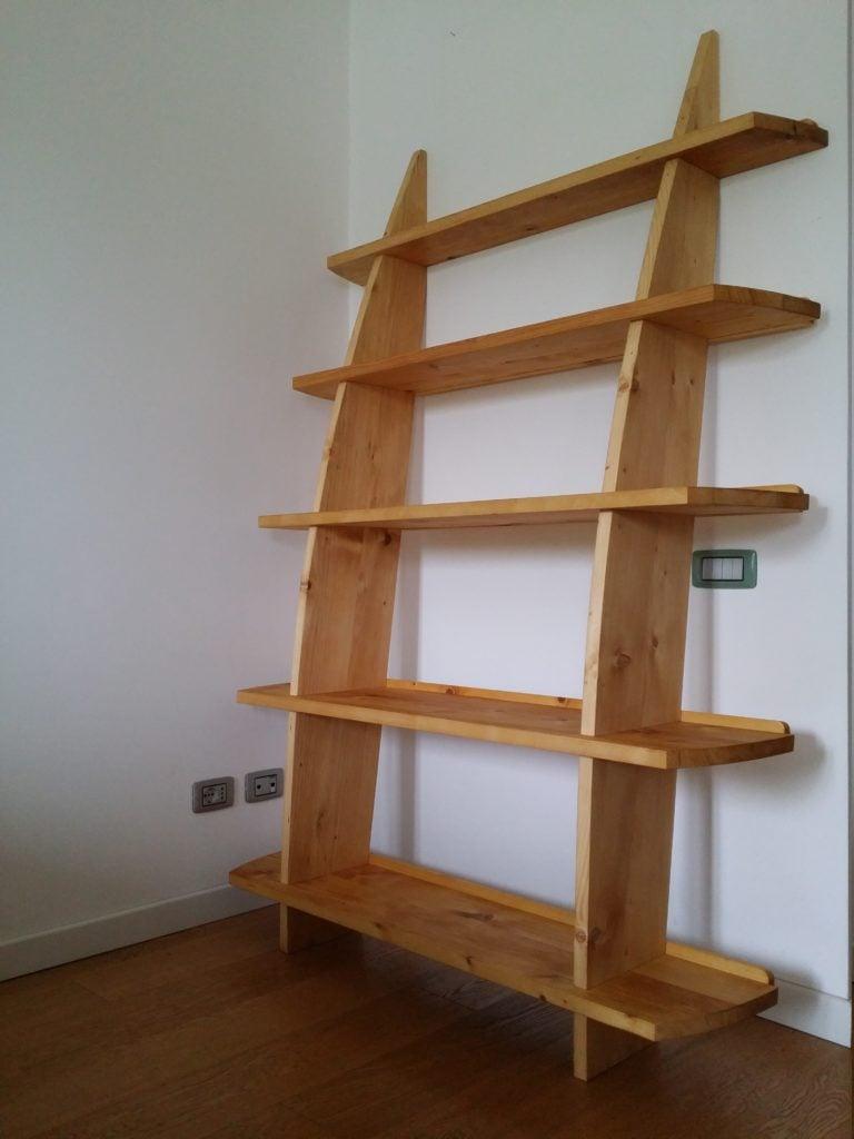 Leaning Wall Shelf by Marco Cividin