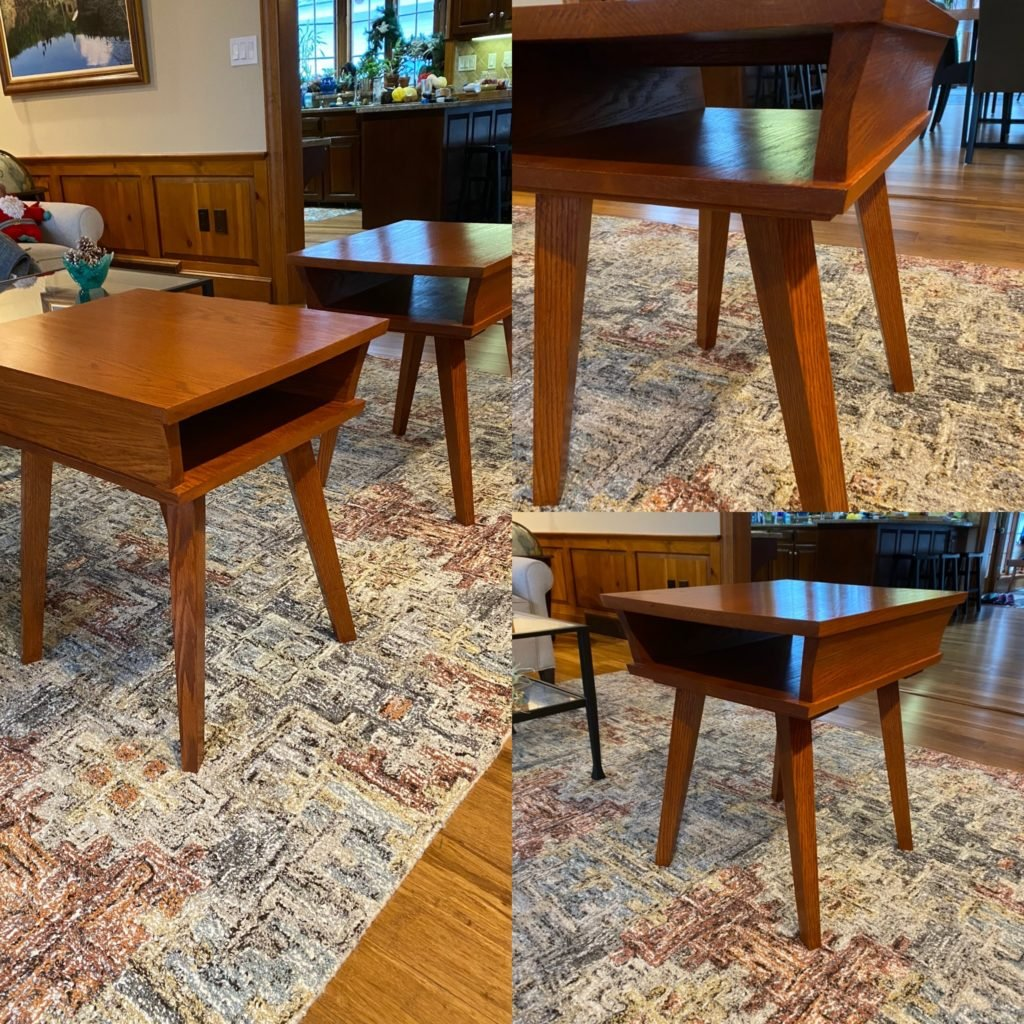 Pair of End Tables by Edward Cook