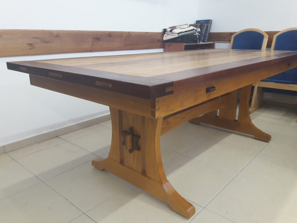 Trestle Table by Yechiel Gottlieb