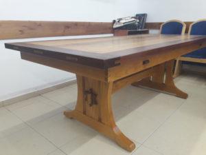 Trestle Table by Yechiel Gottlieb