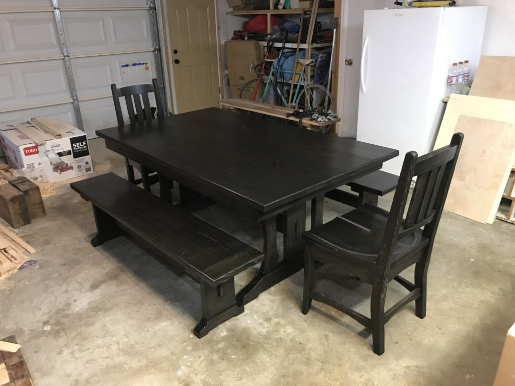 Trestle Table by c fenton