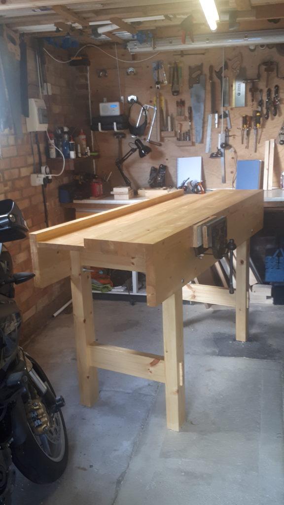 Workbench by mark leatherland