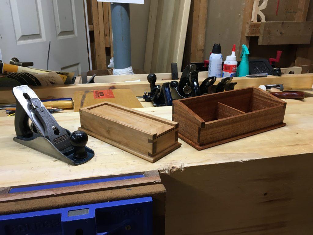 Dovetail Boxes by Keith Oxby