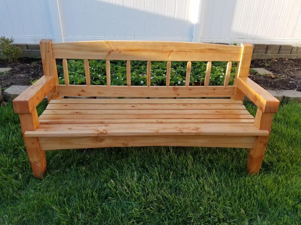 Garden Bench by Nicholas Gaudiuso