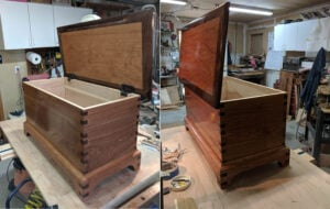 Blanket Chest by Gary Gibbons