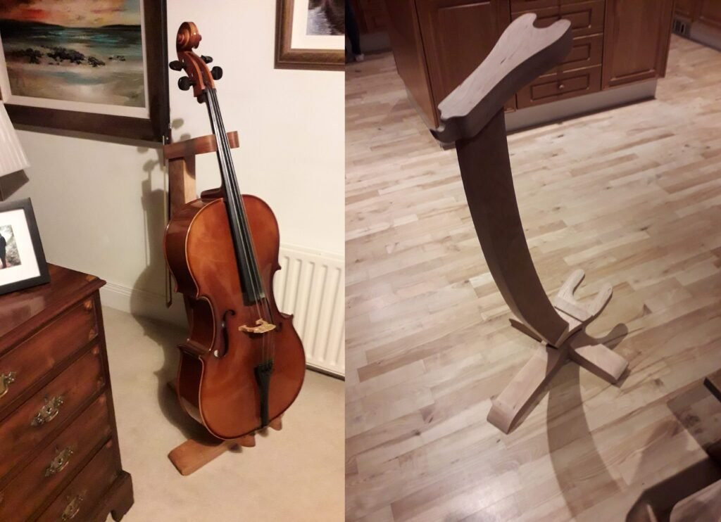 Cello Stand by D Boyle
