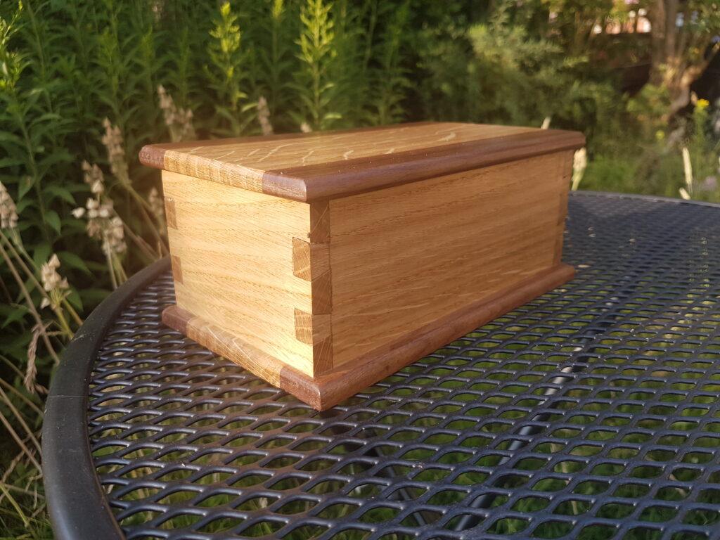 Dovetail Box by Daniel Goldsmith