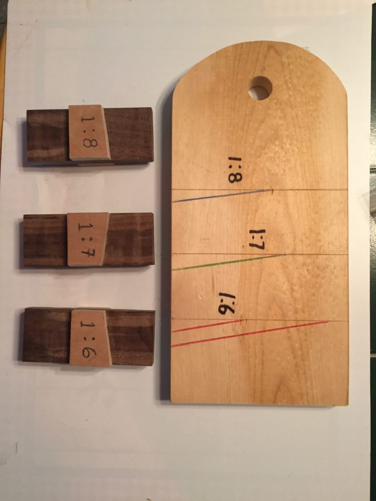 Set of Dovetail Marking Gauges by Rob Drown