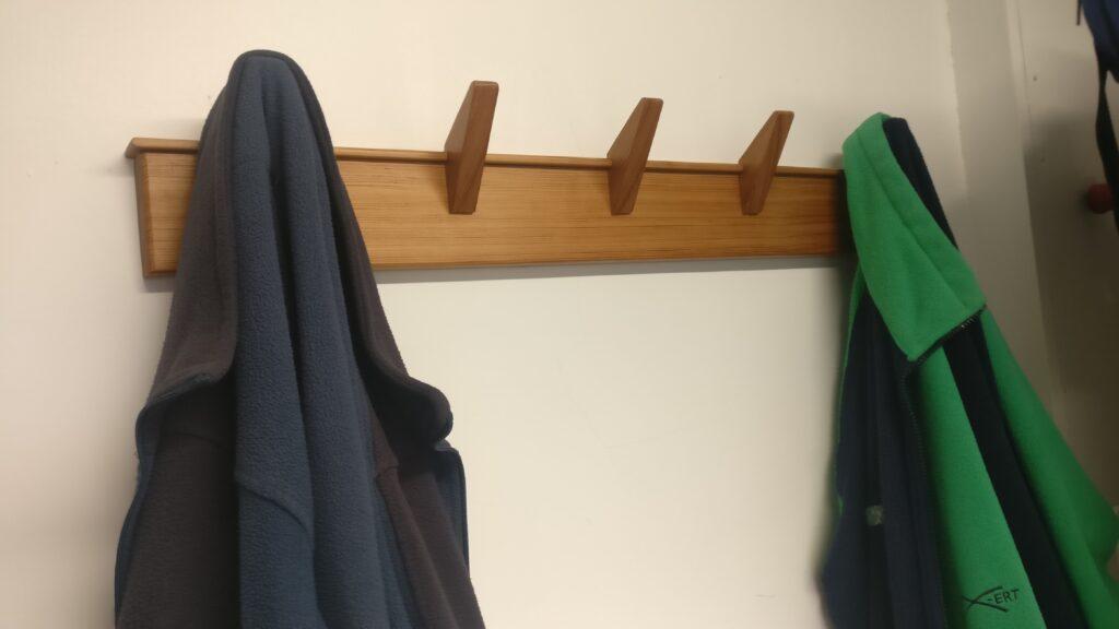 Coat Rack by Paul Rowell