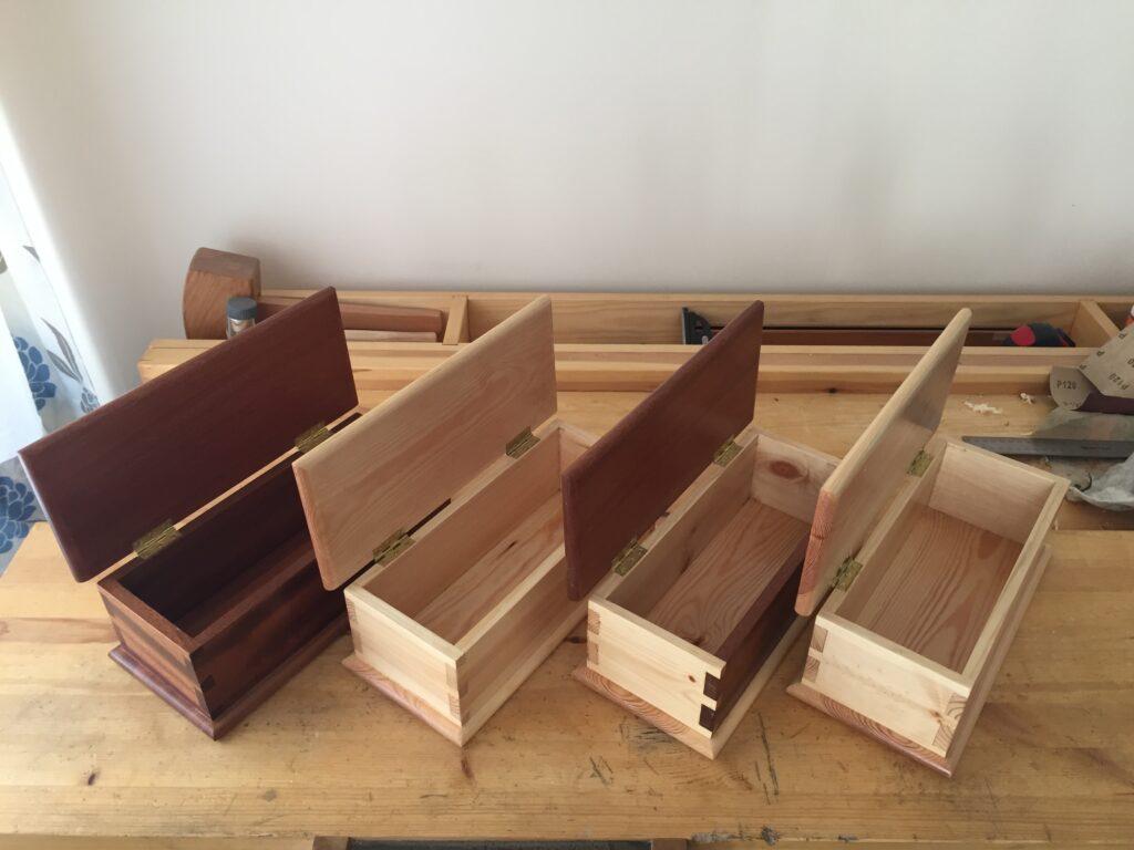 Dovetail Boxes by Francois Lafaix