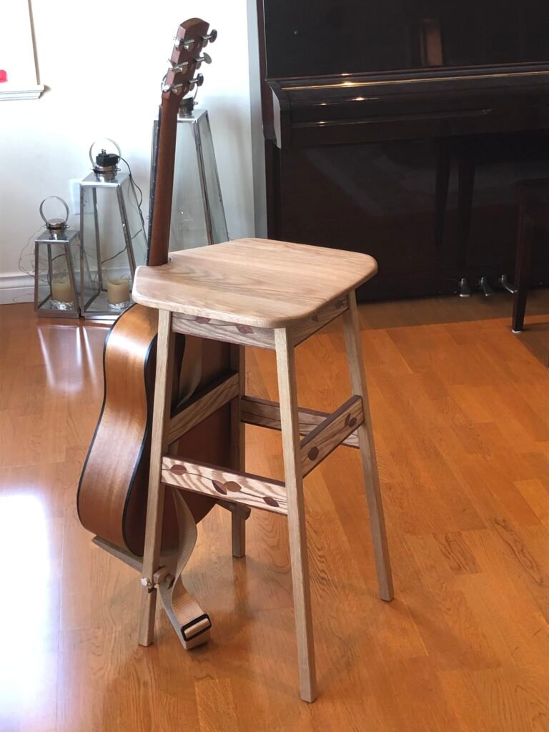 Guitar Stand/Stool by Ian Hemphill
