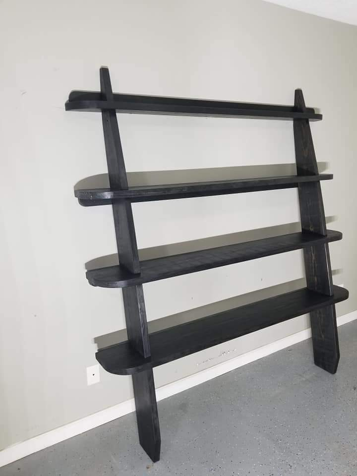 Leaning Wall Shelf by Jim Carr