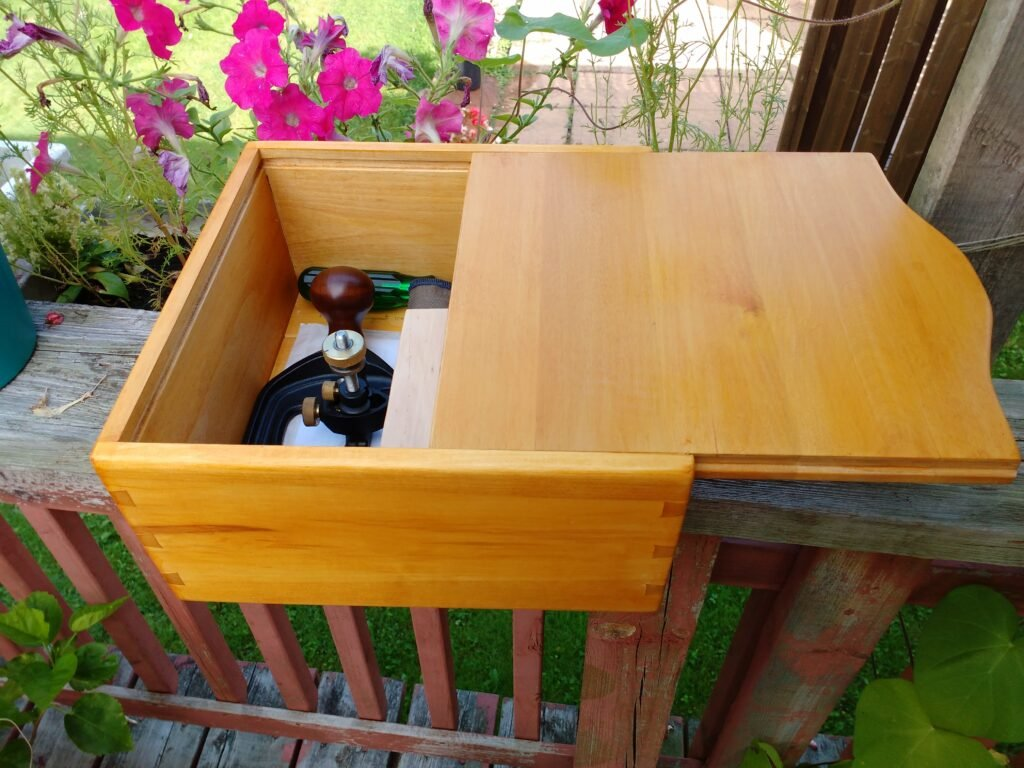Router Plane Storage Box by Mike O'Neil