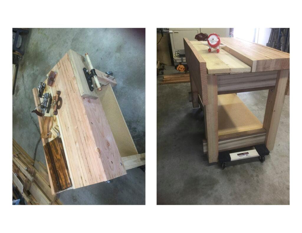 Saw Clamp & Workbench Progress by jeff gose