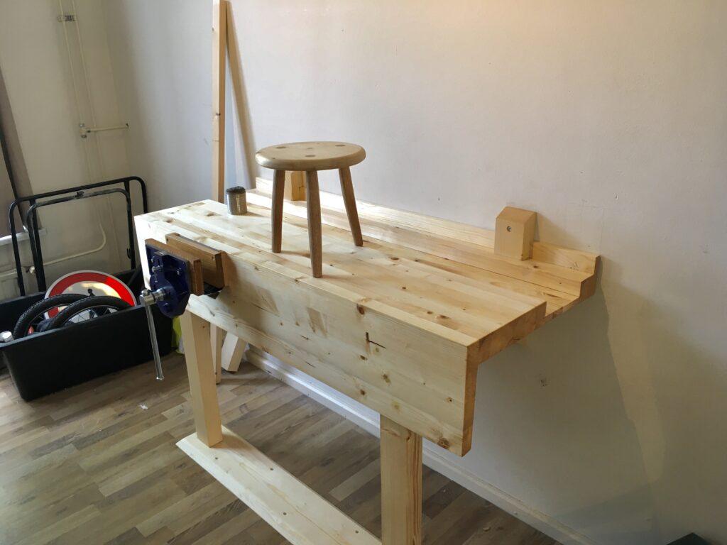 Workbench by Pjotr Bos