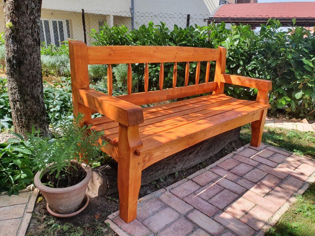 Garden Bench by Nenad Jankovic