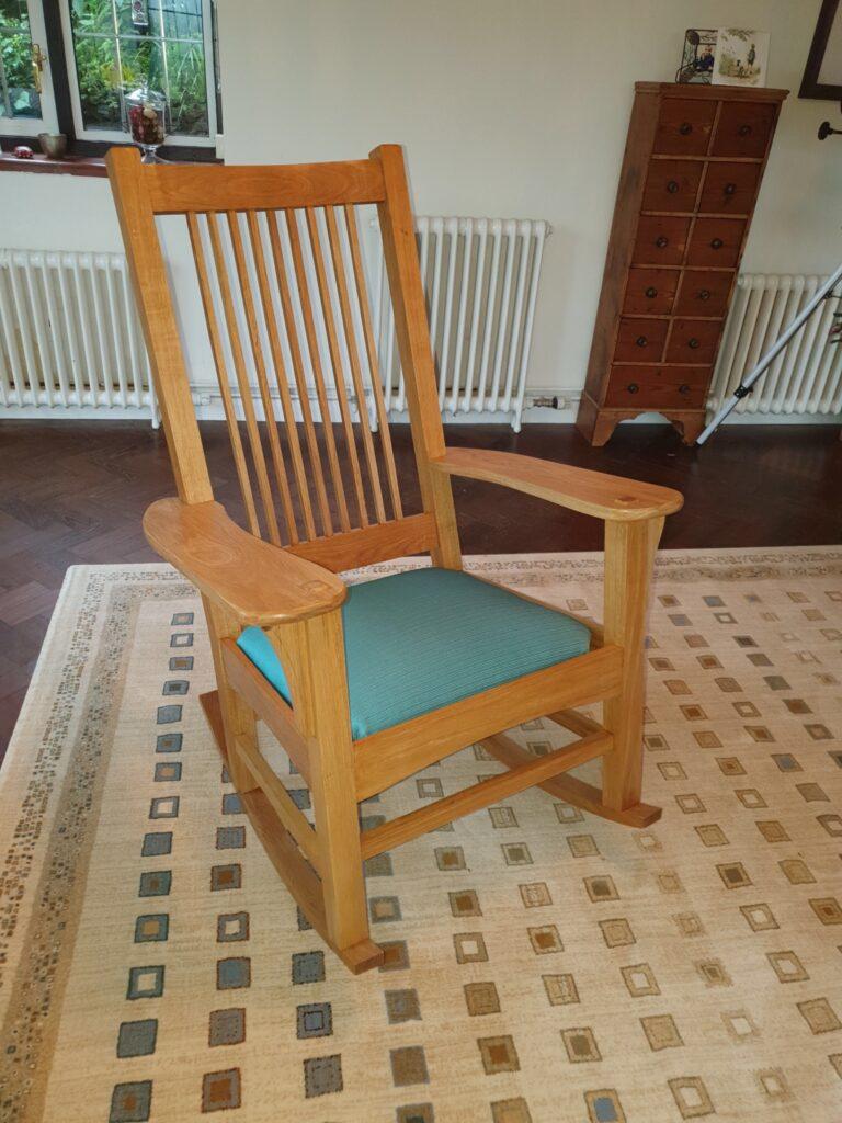 Rocking Chair by Justin Emrich
