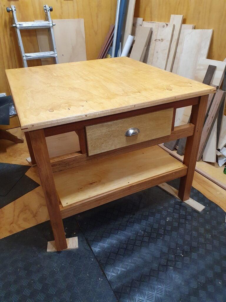 Workshop Utility Table by Paul Mumford