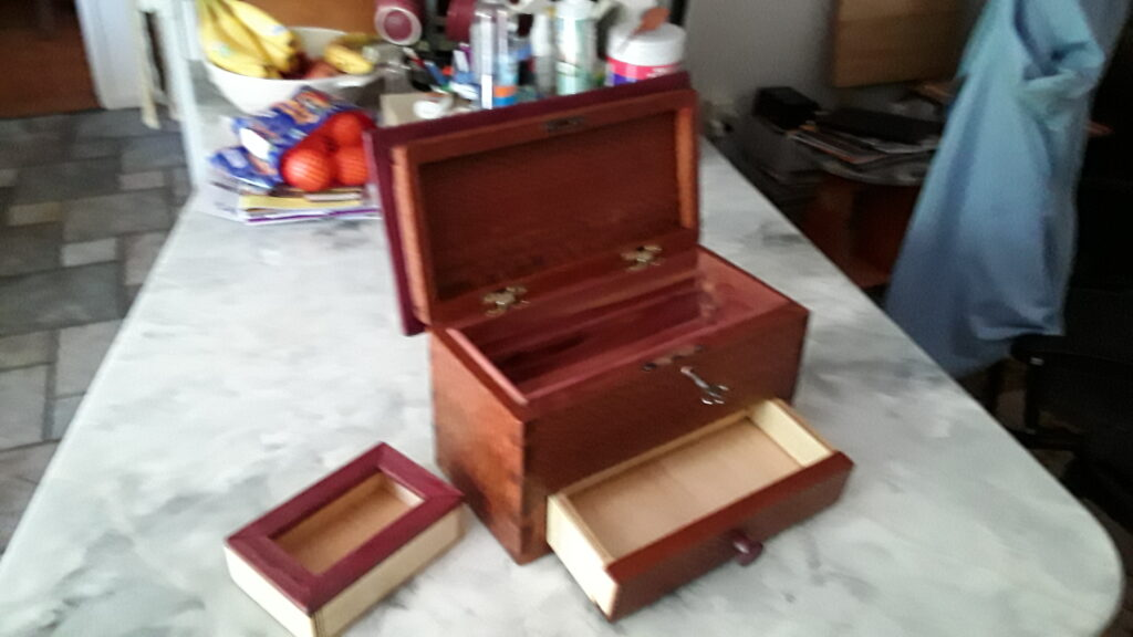 Dovetail Box by James Taylor 2
