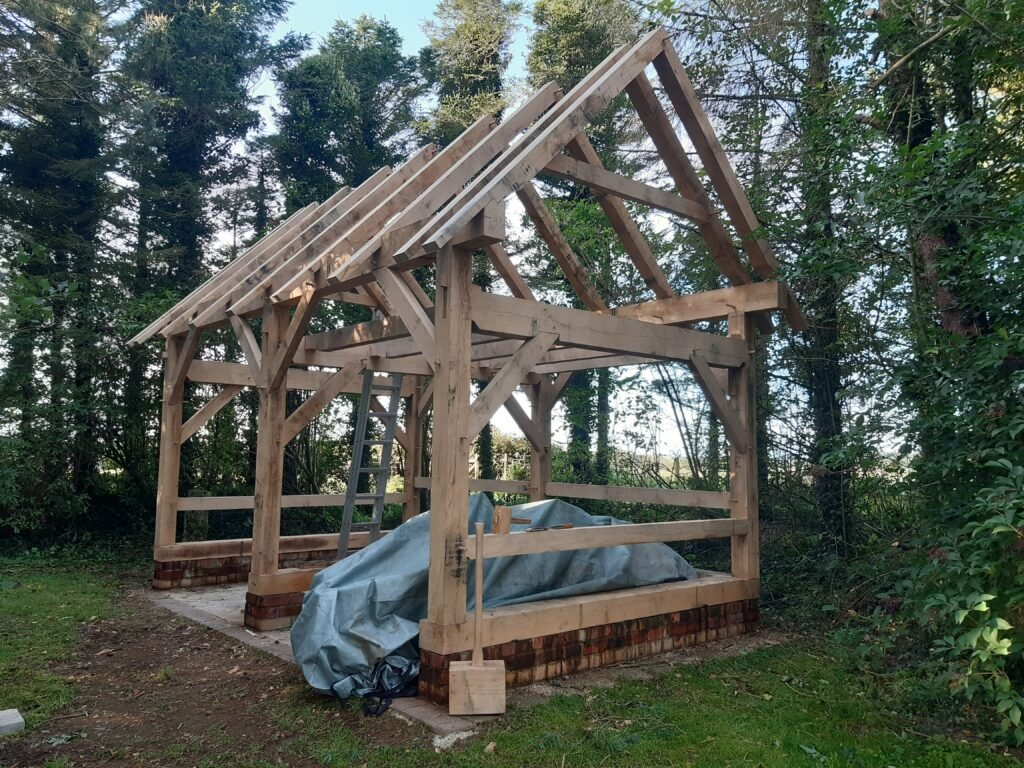 Timber Frame Shed by D Boyle