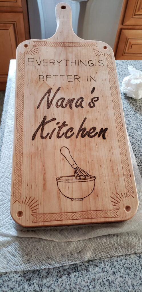 Cutting Board by Kaleb Nab