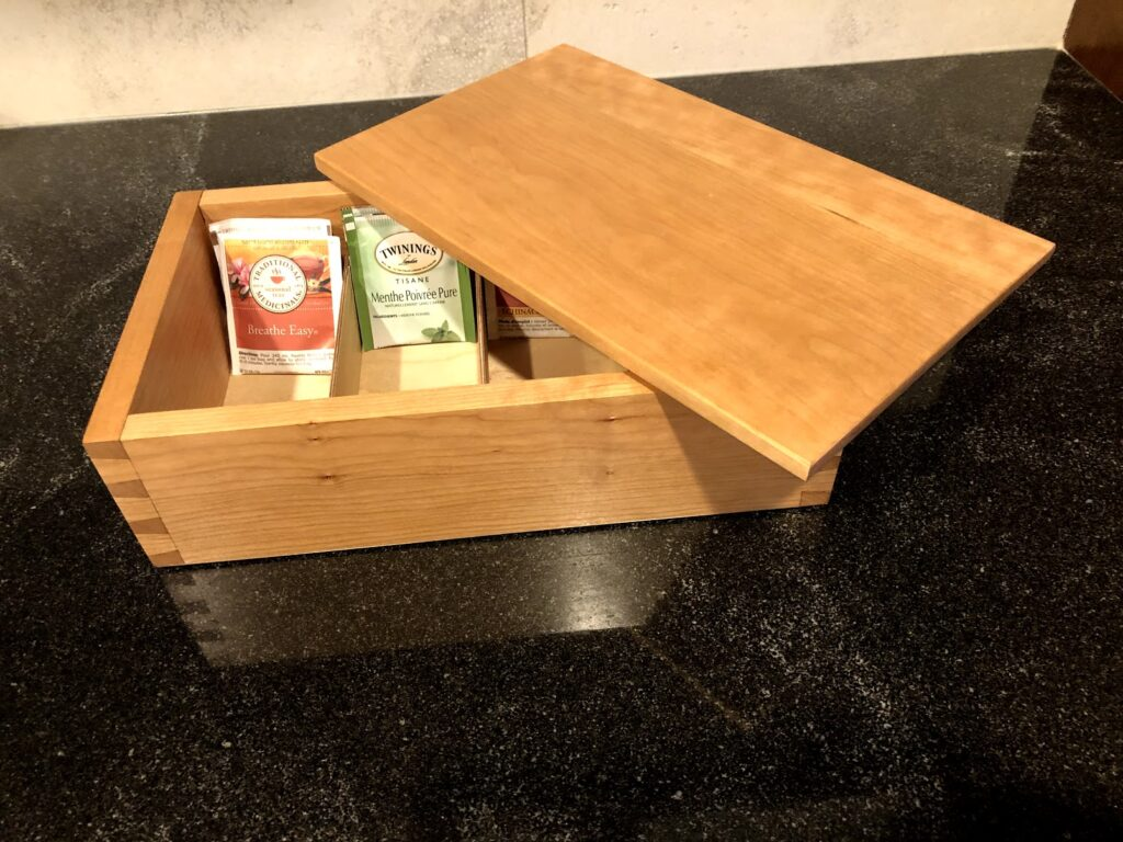 Dovetail Box by peter marshall