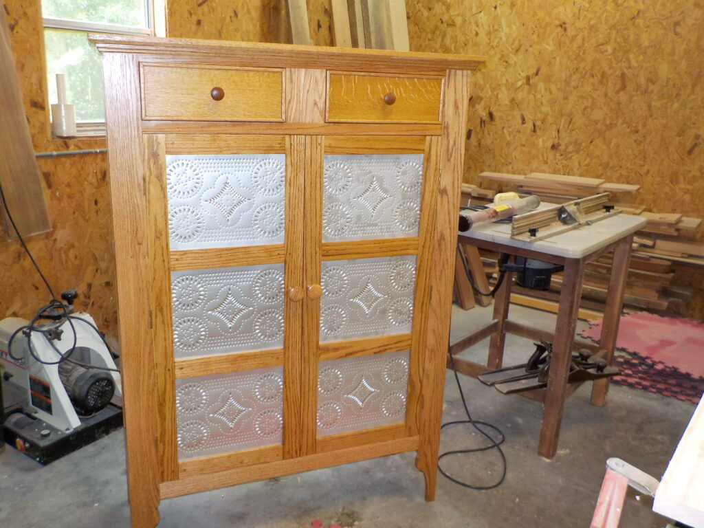 Jelly Cupboard/Pie Safe by George Scales