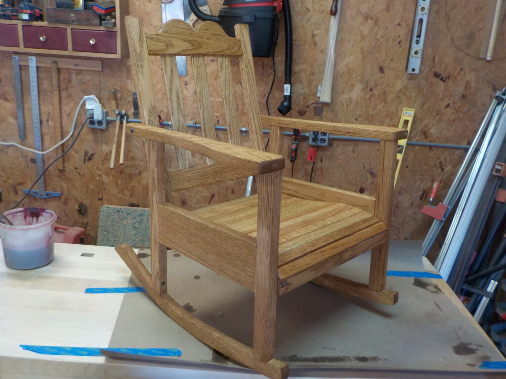 Rocking Chair by George Scales