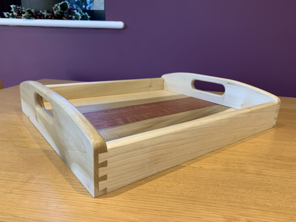 Wooden Tray by chris stone