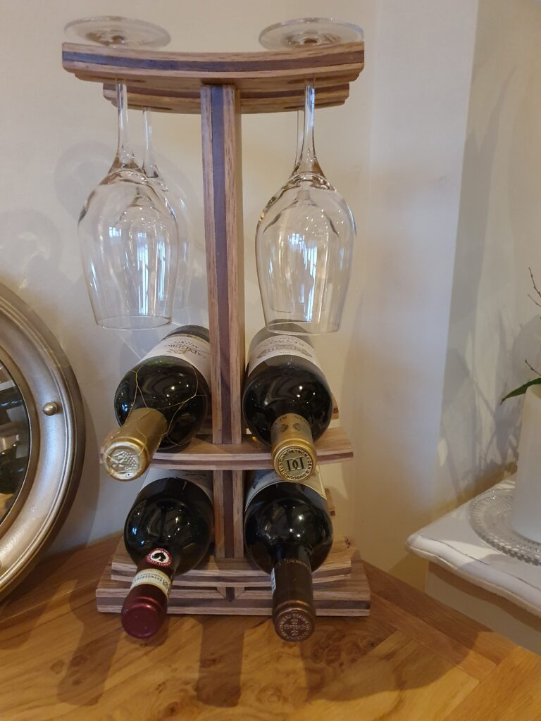 Wine Rack by Justin Emrich