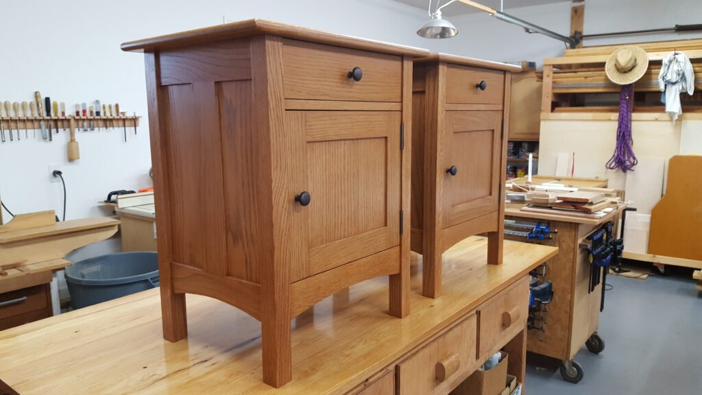 Bedside Cabinets by Chuck Wimpee