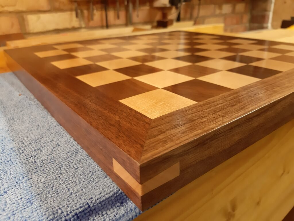 Chessboard by mark leatherland