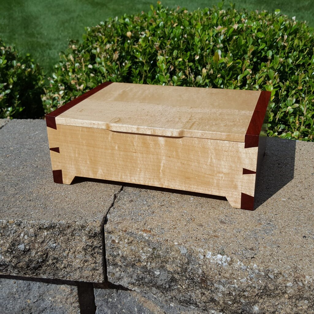 Dovetail Box by Chuck Wimpee