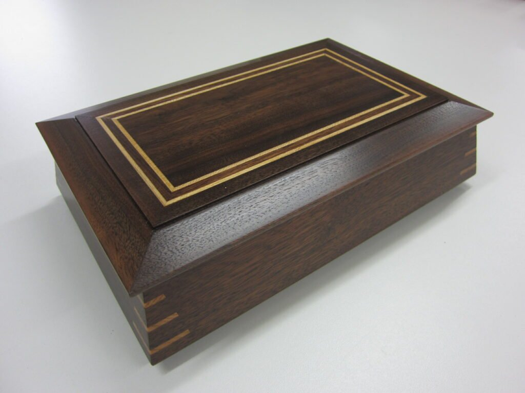 Keepsake Box by Chuck Wimpee