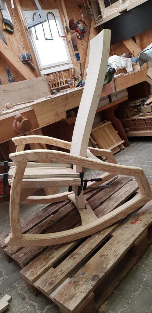 Prototype Rocking Chair by Norbert Pauli