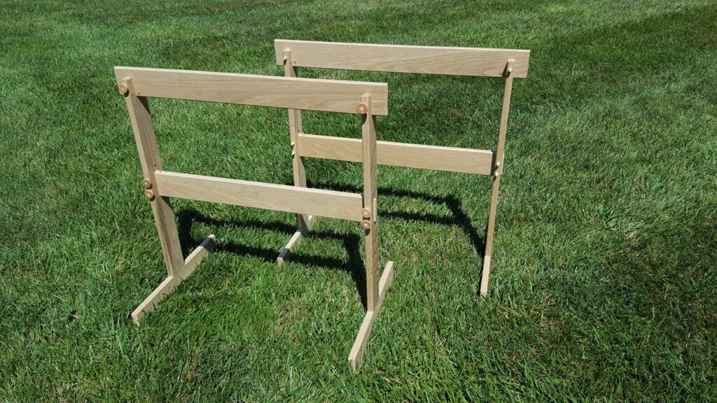 Sawhorses by Chuck Wimpee