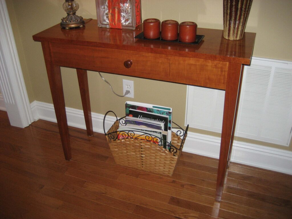 Sofa Table by Chuck Wimpee