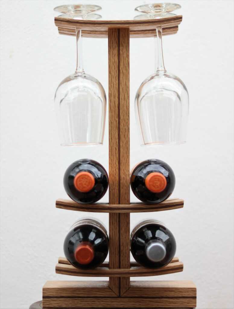 Wine Rack by Carlos Reyes