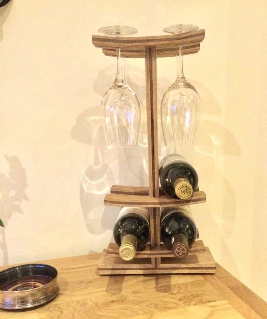 Wine Rack by Justin Emrich