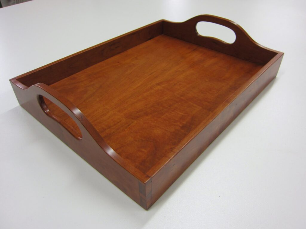 Wooden Tray by Chuck Wimpee