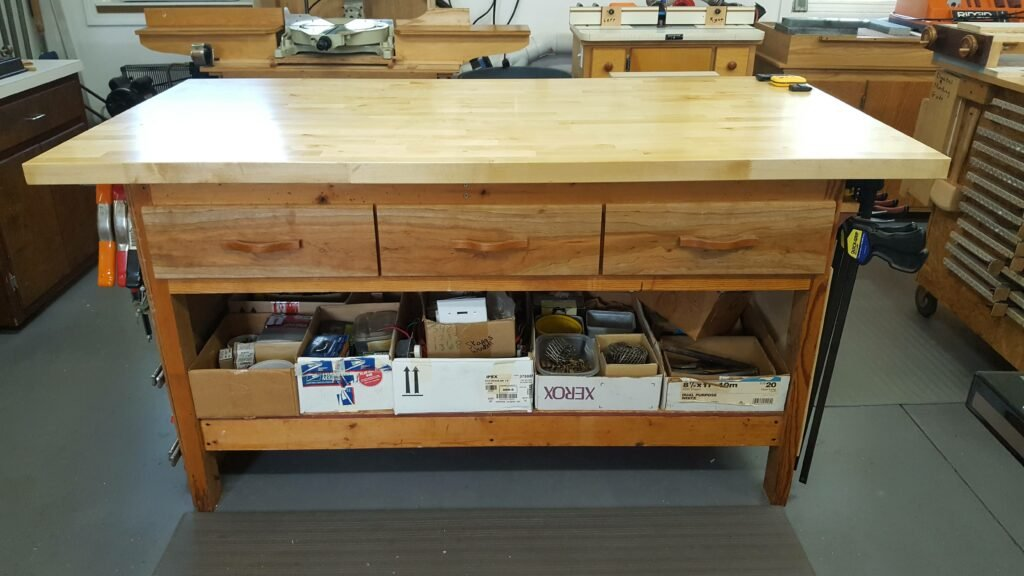 Workbench by Chuck Wimpee