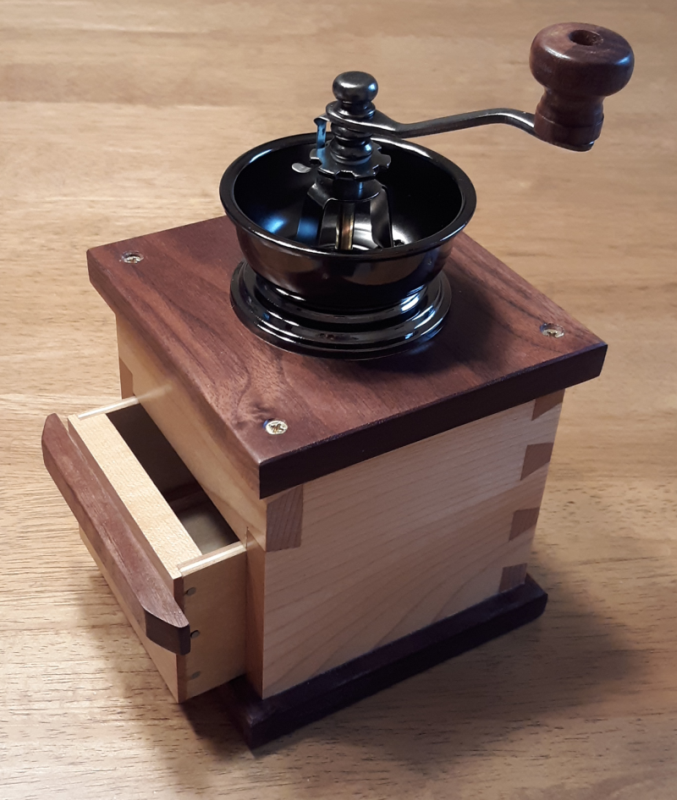 Coffee Grinder by Michael Campbell