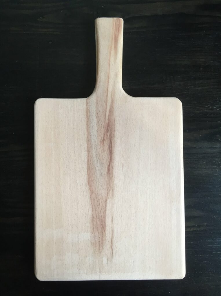 Beech Cutting Board by Valentina Faussone