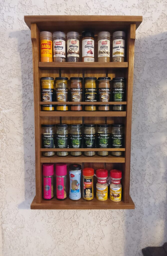 Spice Shelf by carlos reyes