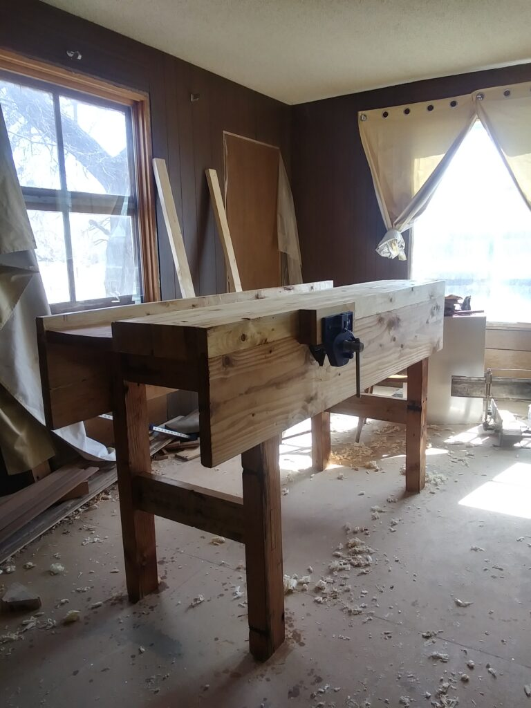 Workbench by Ben Fricke