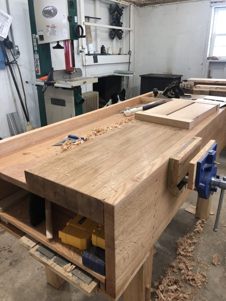 Workbench by Leslie