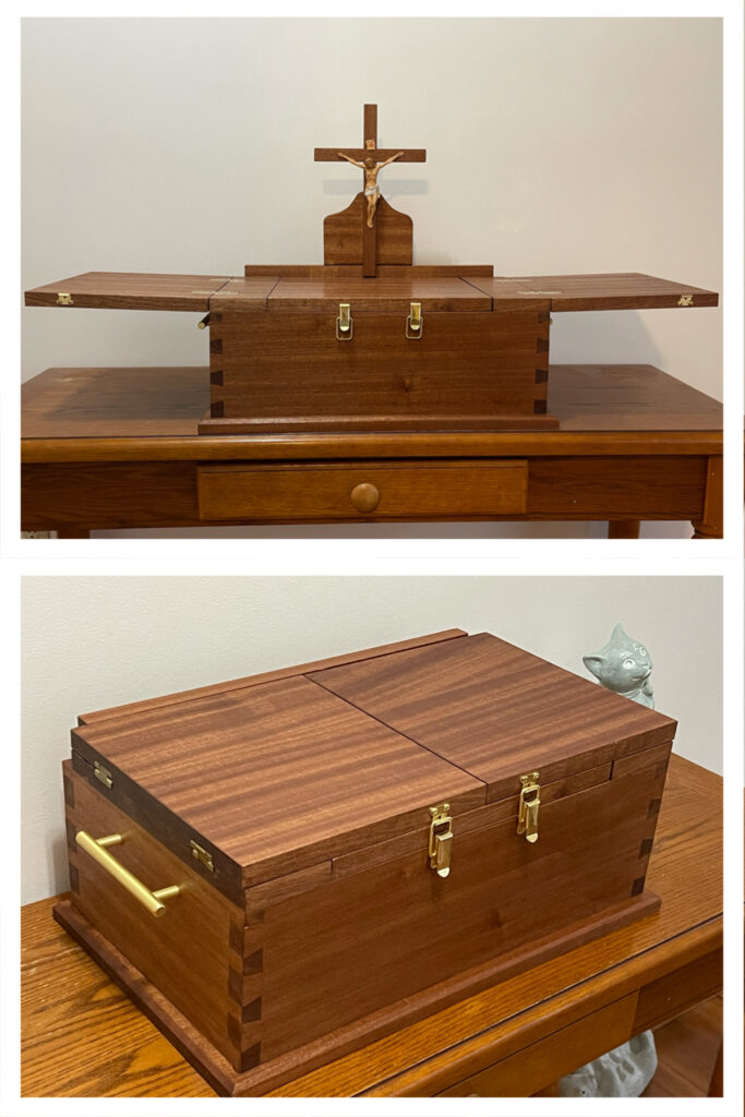Portable Altar by Bill Godefroid