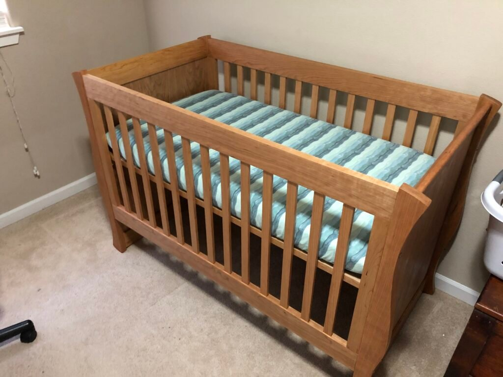 Baby's Cot by Colby Campbell